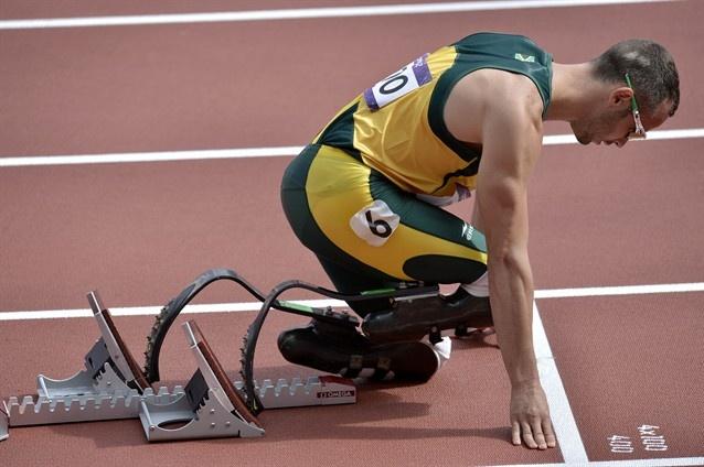 Oscar Pistorius. Pure inspiration.