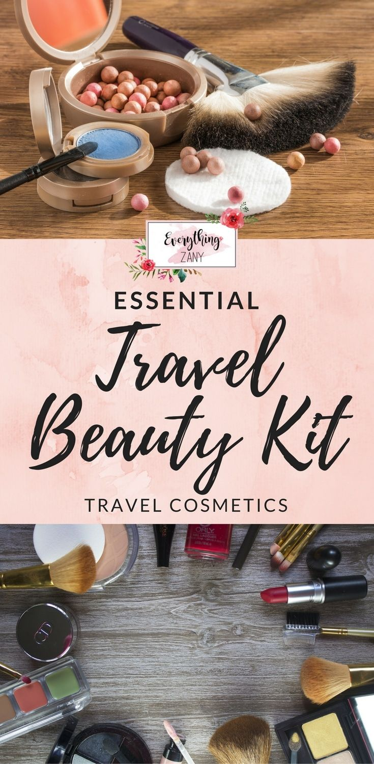 Essential #TravelBeautyKit for Women #TravelCosmetics | Beauty kit is one of the must-haves inside the women suitcase. Looking after ourselves is important for our well-being. It is no exception that we should also do it while we are travelling.  Many of us are using various travel cosmetics and travel toiletry kit that we often get from the supermarkets, high street pharmacies and airports.
