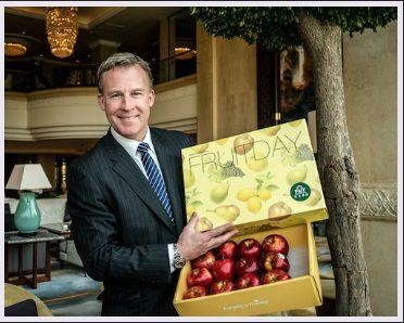 Primeras manzanas australianas en China - Portalfruticola.com