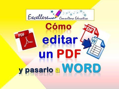 Word a PDF y otras funciones para editar PDF gratis