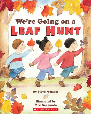 We're Going on a Leaf Hunt.  Fall theme unit.