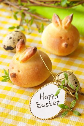Easter Bunny Buns and other Easter snack ideas from Punchbowl