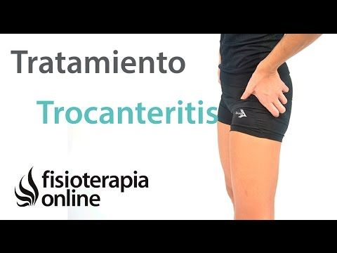 Trocanteritis o bursitis trocantérea. Tratamiento con ejercicios, auto-masajes y estiramientos - YouTube
