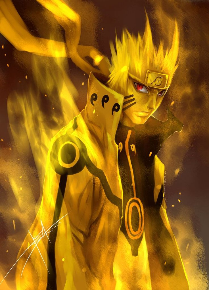 Image - Naruto - kyuubi -chakra- mode - wallpaper -i16.jpg - Master gods ...