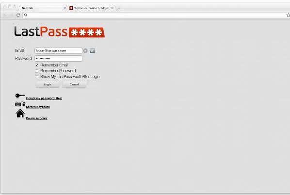 LastPass – Alternativa segura al gestor de contraseñas de tu navegador.