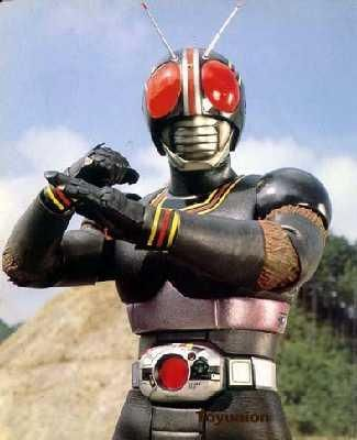 black kamen raider. a fly on a motorcycle