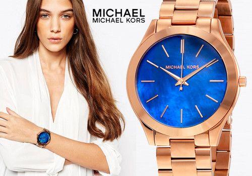 Στον επόμενο τόνο η ώρα θα είναι…μπλε με ρολόι Michael Kors! Μόνο 139,00€
