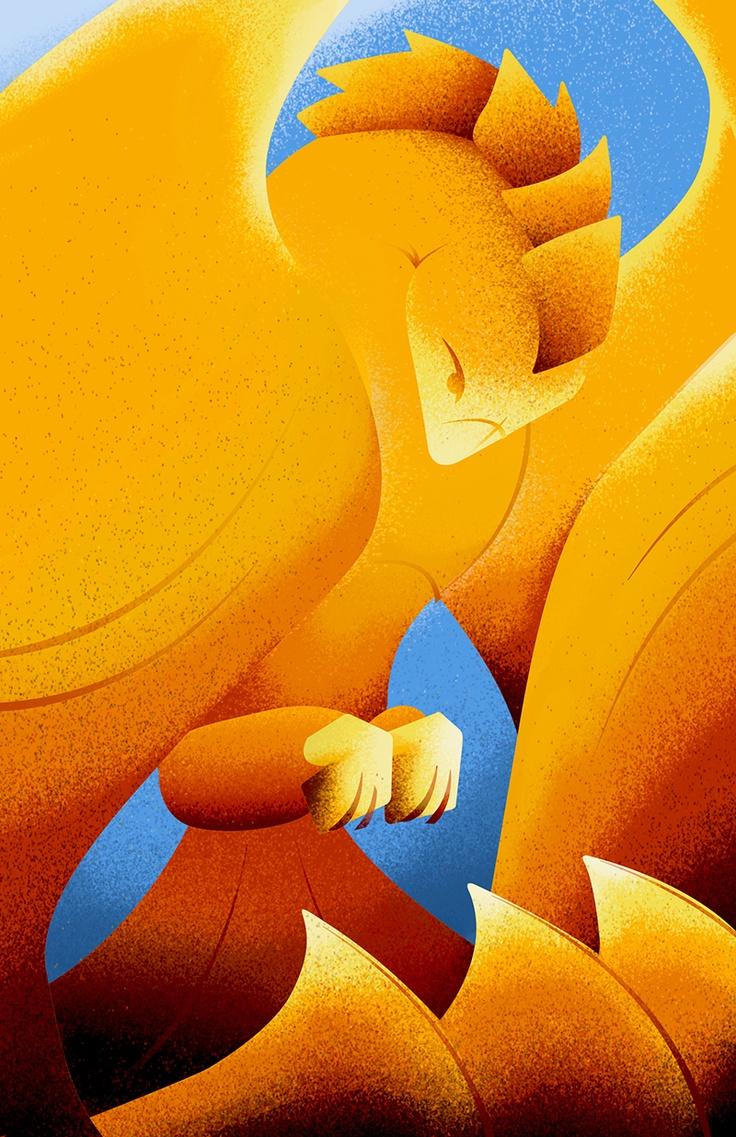 A bold Phoenix | University of Phoenix #imagination #art