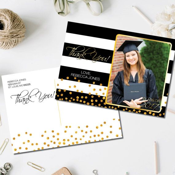 64 best Graduation images on Pinterest At home, Email address - graduation thank you notes