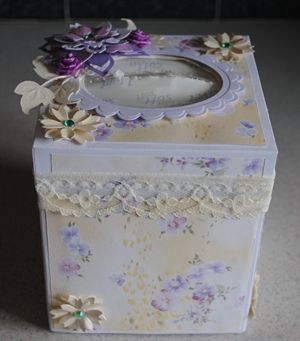 decorated tissue box by: asteroid