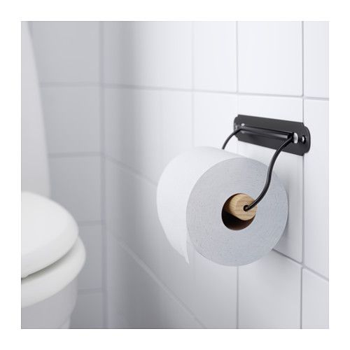 svartsj n toilet roll holder black toilets other and ikea. Black Bedroom Furniture Sets. Home Design Ideas