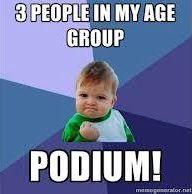 Podium | Funny Triathlon Picture | Triathlon Humor