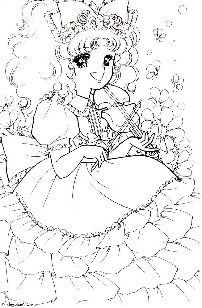 Pin By 小佩 黃 On Anime 4 Vintage Coloring Books Cute Coloring Pages Coloring Books