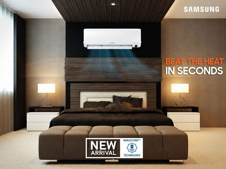 Planning to buy AC? It's time to beat the heat in seconds! Samsung Bangladesh brings you the world's first AC with 8-pole digital inverter compressor.  Price starts from BDT 76,900. Hurry up!