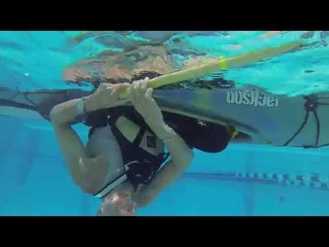 Kayak Re-Enter & Roll Self-Rescue   How To Articles - Paddling.net
