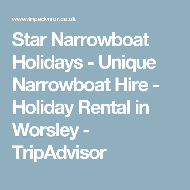 Star Narrowboat Holidays - Unique Narrowboat Hire - Holiday Rental in Worsley - TripAdvisor