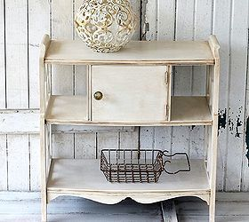 How To Antique White Paint/ Furniture Makeover