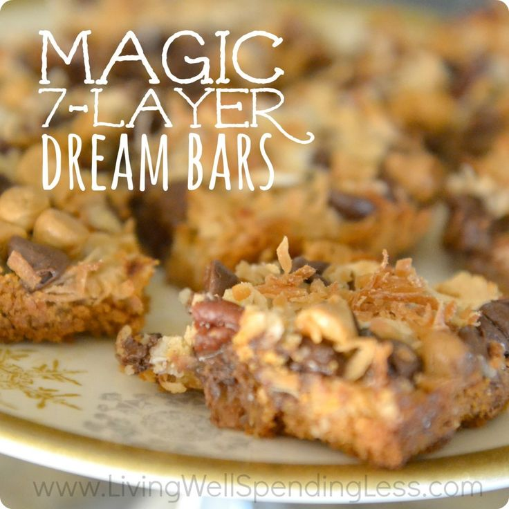 These are seriously the yummiest bars on the planet!  SO easy to make & sooooooo good.  The perfect treat for when you are short on time!