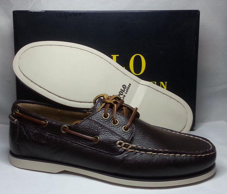 #ebay POLO Ralph Lauren BIENNE II Men size 8.5 Dark Brown leather Boat shoes NIB RalphLauren withing our EBAY store at  http://stores.ebay.com/esquirestore