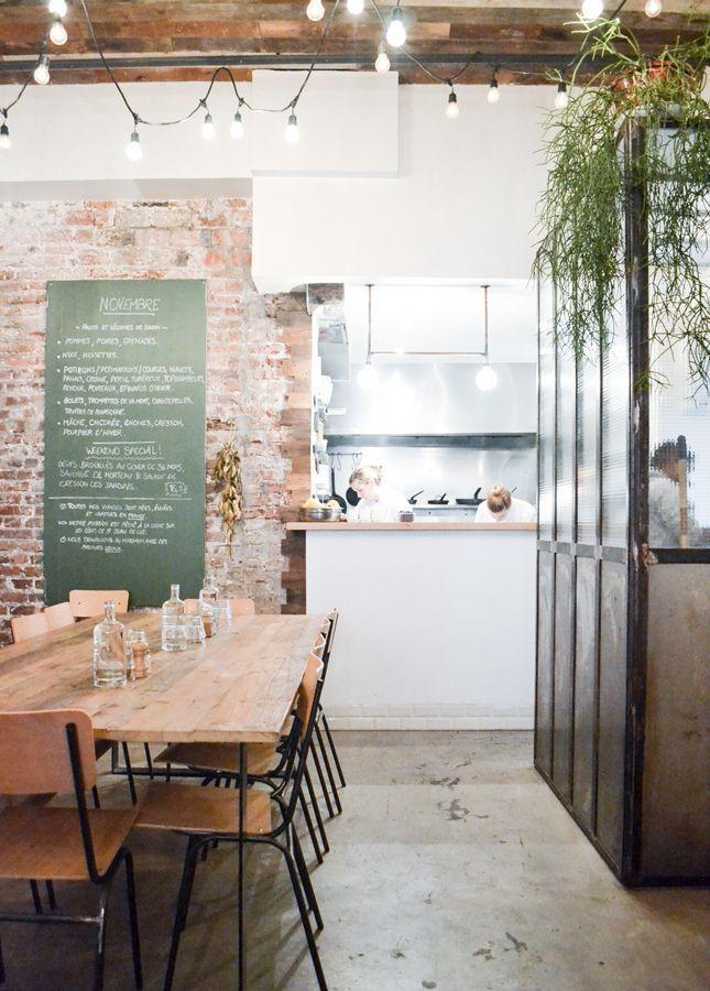 die 25 besten ideen zu restaurant tische und st hle auf pinterest restauranttische caf. Black Bedroom Furniture Sets. Home Design Ideas