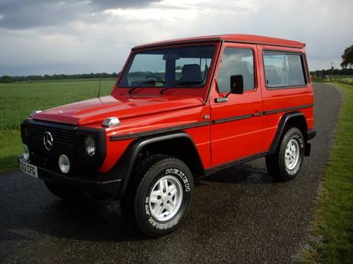 Mercedes G Wagen W460 G280 Swb 5sp For Sale 1986