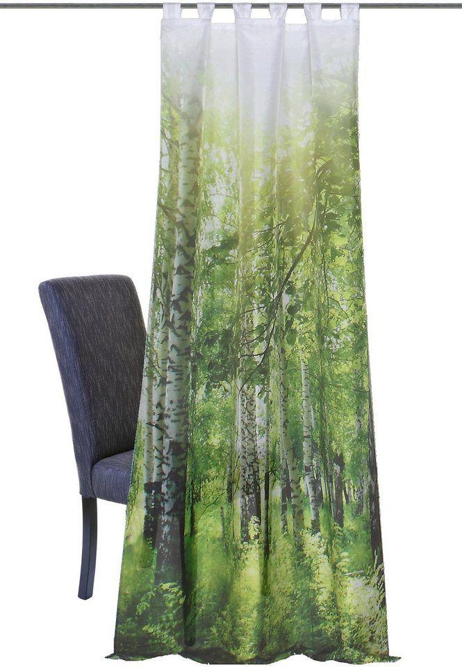 Vorhang, Home Wohnideen, »NEWCASTLE«, mit Schlaufen (1 Stück) online kaufen   OTTO