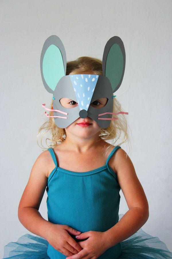 8 шаблонов карнавальных масок из бумаги для детей — Все для развития ребенка