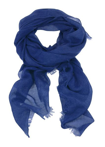 Solid Colour Scarf - Blue $44.95 #leethal #accessories #fashion