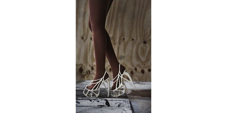 Melonia, the 3D printed shoe by Souzan Youssouf.