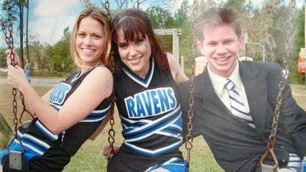 Haley (Bethany Joy Lenz), Brooke (Sophia Bush), and Mouth (Lee Norris).