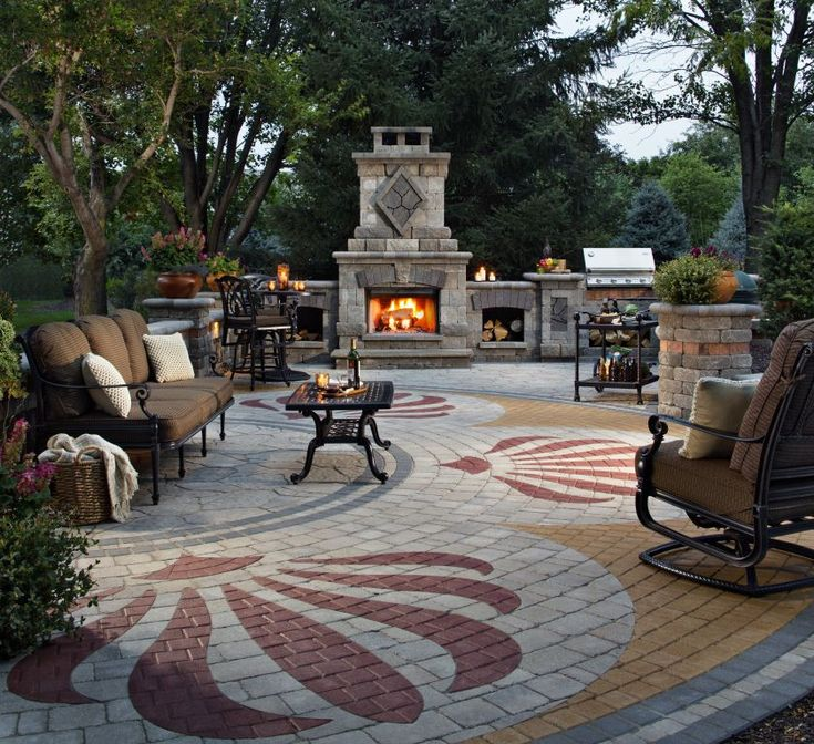 Fireplace Design madison fireplace and patio : 23 best Outdoor Fireplaces images on Pinterest