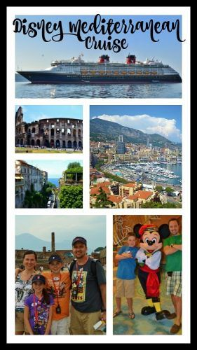 Disney Mediterranean Cruise Tips