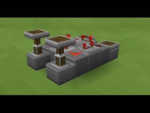 Minecraft PE - Redstone Clock Circuit