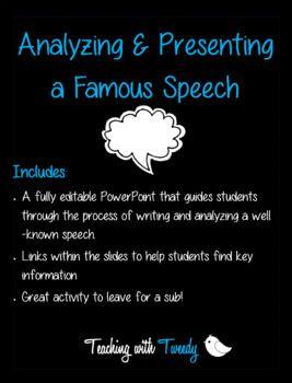 famous argumentative speeches