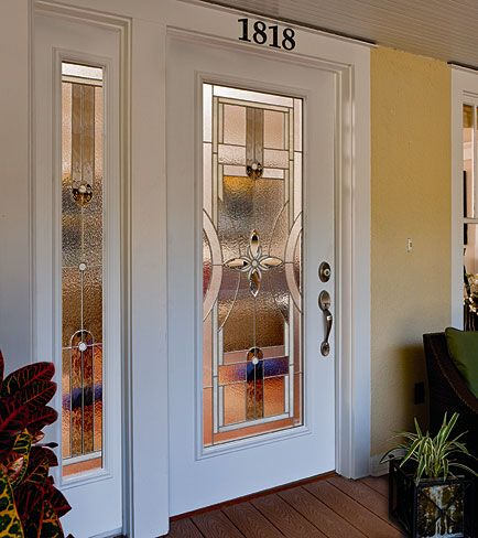 ODL Decorative door glass - Delray  privacy rating 7 and comes in 3/4