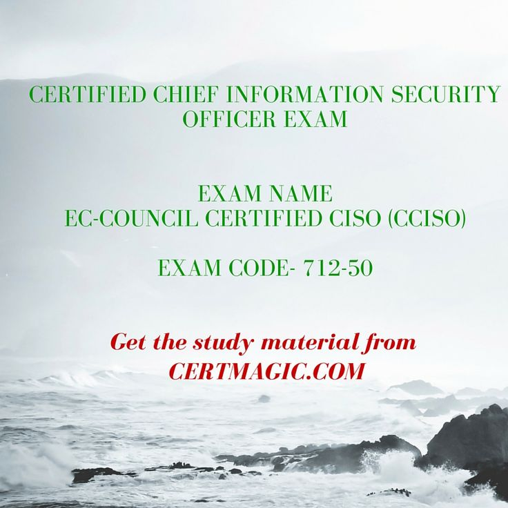 Exam Name EC-Council Certified CISO (CCISO) Exam Code- 712-50   - ciso resume