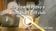 Workshop - Hickory golf information and wood shafted golf clubs
