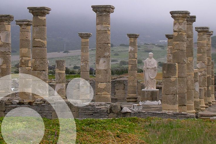 Ruins of the roman city of #Baelo_Claudia, near Tarifa.  More information to plan your trip to #The_strait_of Gibraltar in www.qnatur.com