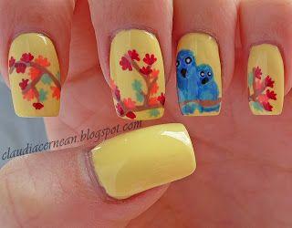 Unghii de Toamna - Autumn Nails - Nails Art Tutorials