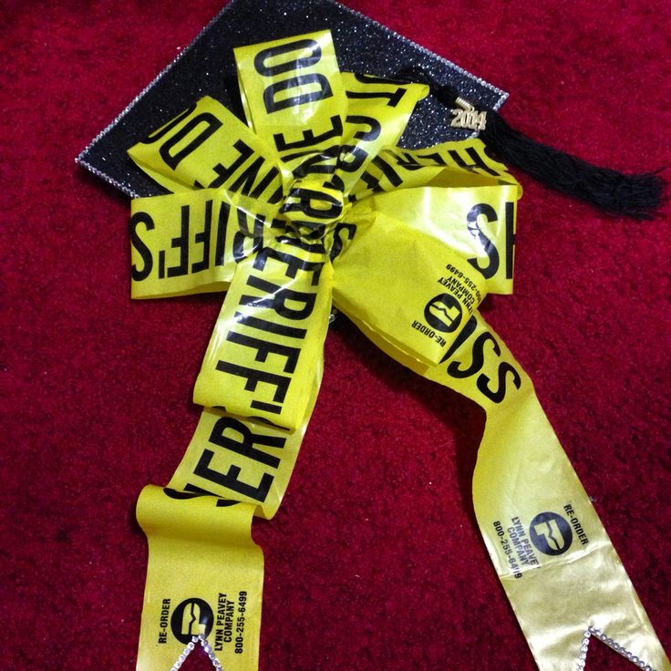 My graduation cap! Criminal Justice major c/o 2014
