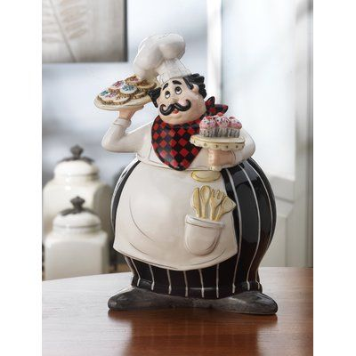 Design Guild Bon Appetito Cookie Jar