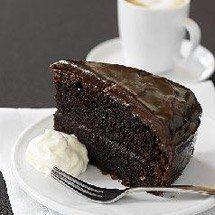 Chocolate Mud Cake with Chocolate Ganache Icing