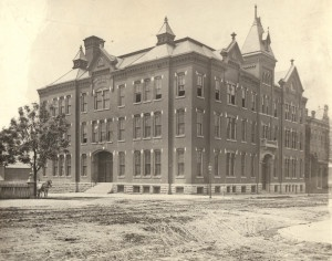 Washington University Manual Training School. Southwest corner of 18th St. and Washington Ave. Photo by Emil Boehl, 1880. On Feb 21, 1853, a charter was introduced to the Missouri Senate for an institution of higher learning called Eliot Seminary, after William Greenleaf Eliot. A year later, the first meeting of the board of directors was held on Washington's birthday. At the suggestion of Eliot, the board president, the school's name was changed to Washington University. Missouri History…