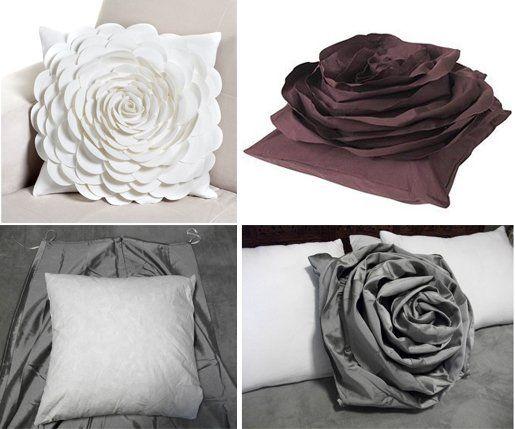 Best 25 diy rose pillow ideas on pinterest heart diy flower diy rose pillow from old skirt solutioingenieria Gallery