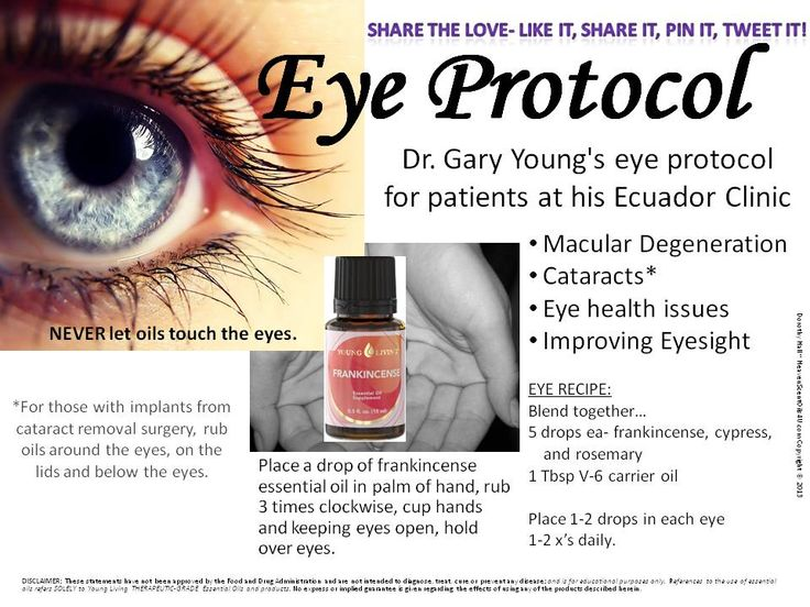 Dr. Gary Young's eye protocol from his clinic in Ecuador for patients with cataracts, macular degeneration, eye health issues, improving eyesight.