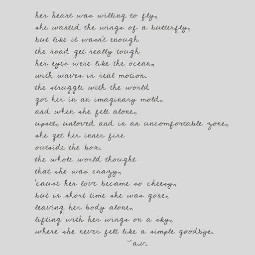 My first poem. It is entirely made by me, Alexandra Virsescu, today 27/09/2014 I would love to see your opinion. Thank You!