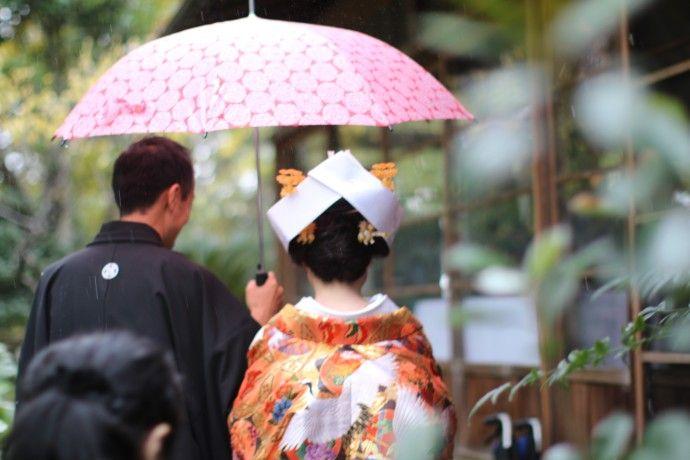 #kimono#rain