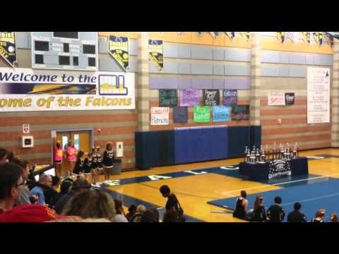 Hyde Park Middle School Cheer Stunt Group Routine