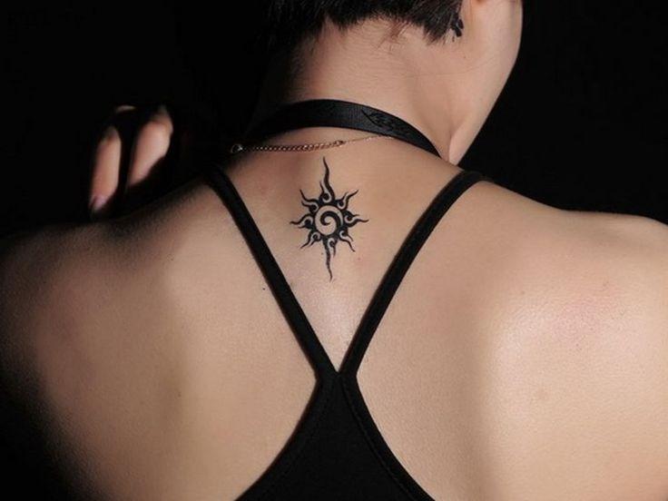 5 Bright Sun Tattoo Designs For Women
