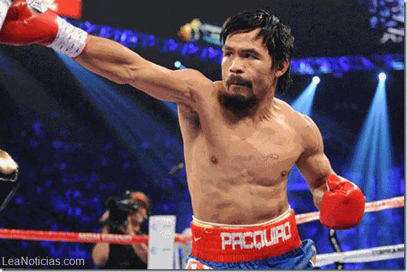 """Manny """"Pacman"""" Pacquiao pasará por el quirófano y podría ser sancionado - http://www.leanoticias.com/2015/05/05/manny-pacman-pacquiao-pasara-por-el-quirofano-y-podria-ser-sancionado/"""